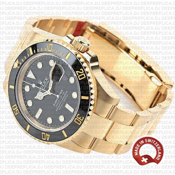 Rolex Submariner 41mm 18k Gold