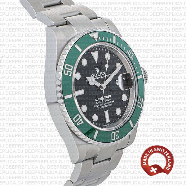Rolex Submariner Black Dial 41mm Swiss Made Replica Watch