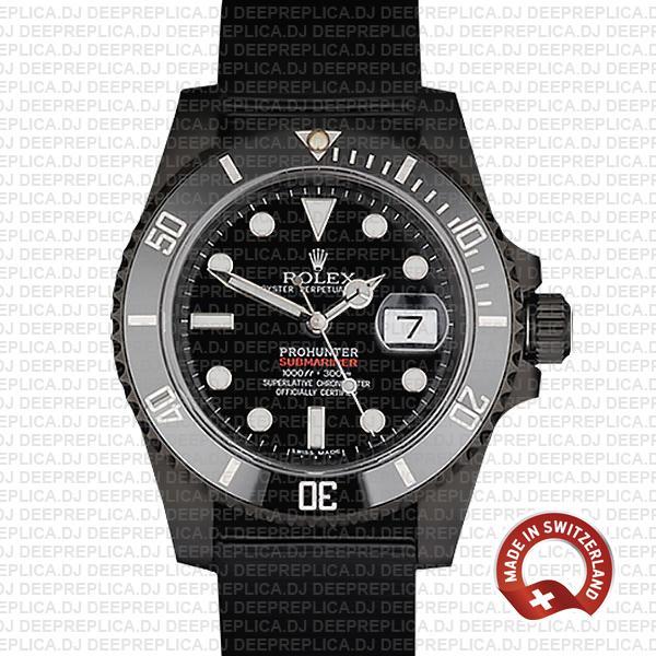 Rolex Submariner Pro Hunter Date | NATO Strap Replica Watch
