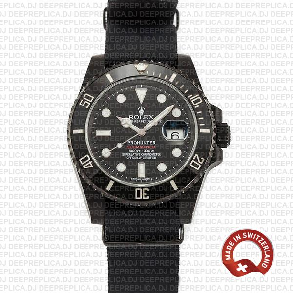 High-Quality Rolex Submariner Pro-Hunter NATO Strap