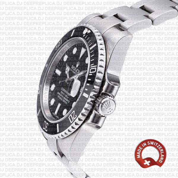 Rolex Submariner Steel Black Dial Ceramic Bezel 40mm 116610