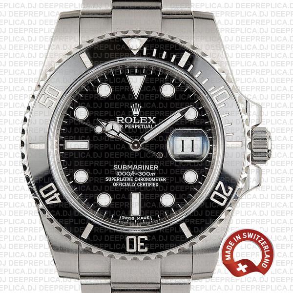High-Quality Rolex Submariner Replica Black Dial 40mm Watch