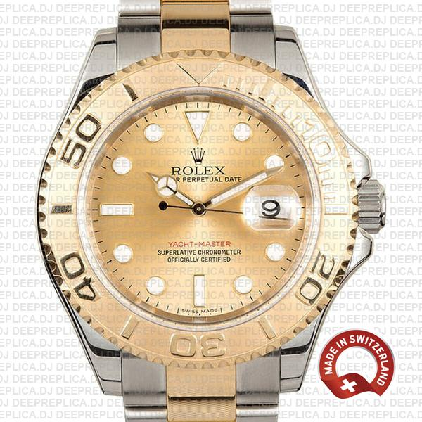 Rolex Yacht-Master Two-Tone Yellow Gold Dial | Replica Watch