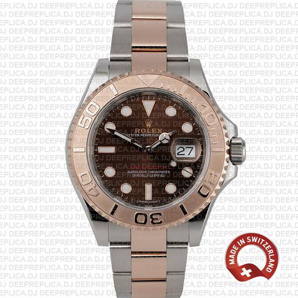 Rolex Yacht-Master Two-Tone Chocolate Dial | Deep Replica