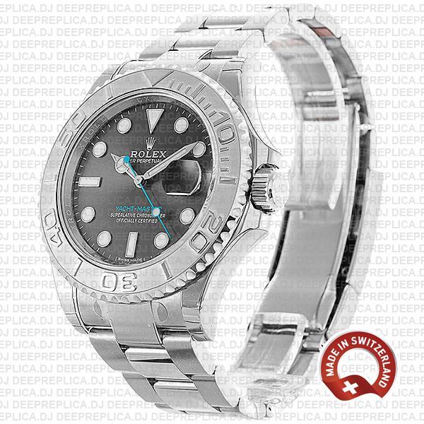 Rolex Yacht-Master Platinum Rhodium Dial 2016 Replica Watch