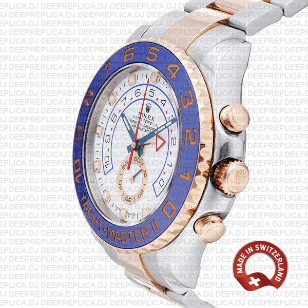 Rolex Yacht-Master II Two-Tone White Dial High Quality Replica
