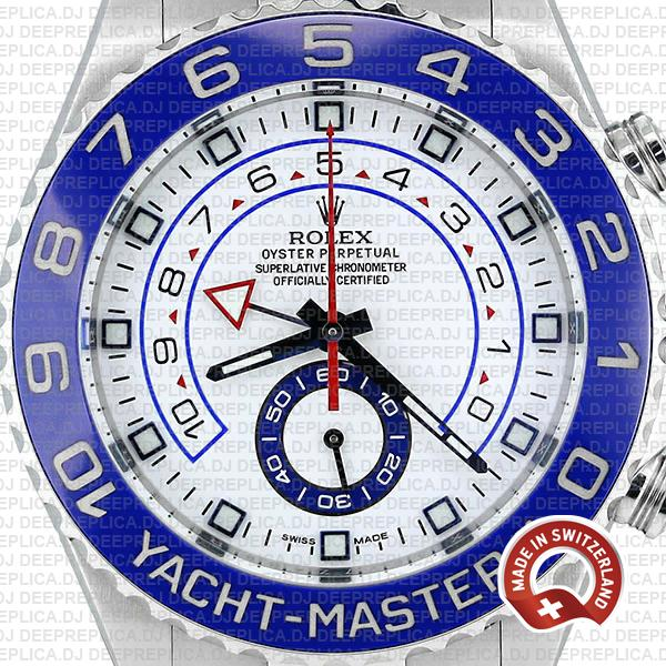 Best Rolex Yacht-Master II Stainless Steel Rolex Replica Watch